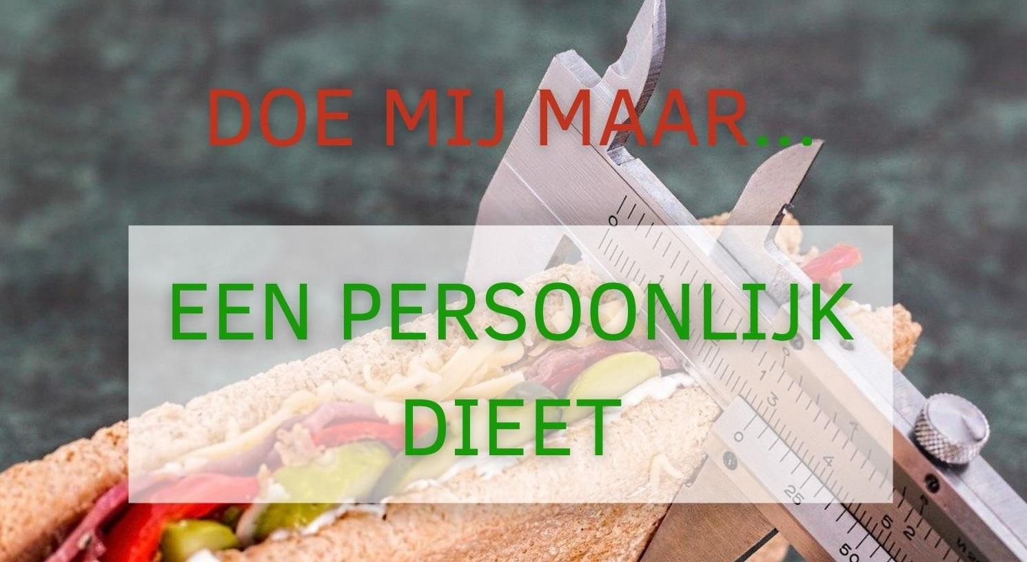 Een persoonlijk dieet