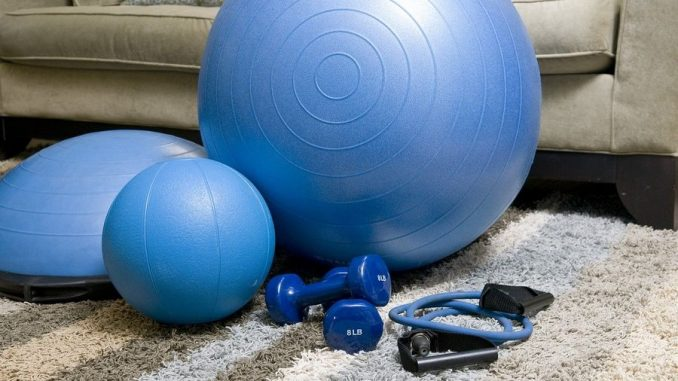 Fitness materialen voor thuis